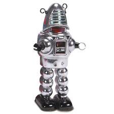 Chrome PIANETA ROBOT LATTA DA COLLEZIONE replica di Robby il Robot