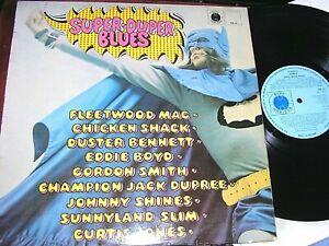 CHICKEN SHACK, etc...  Super-Duper Blues,   ORIGINAL 1969 UK LP..... DECENT COPY