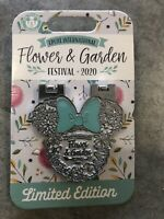 Disney 2020 Flower And Garden Festival Minnie Hinged LE Pin