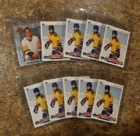 (10) Markus Naslund 1992-93 Upper Deck Rookie card #234 lot RC 1991-92 Classic