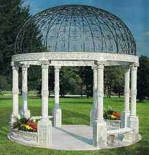 Garten,Säulen,Pavillon,Pavillion,Dekoration,Dekor,Kupel,