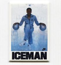"GEORGE GERVIN / ICEMAN 2"" x 3"" POSTER FRIDGE MAGNET rare vintage spurs nba"