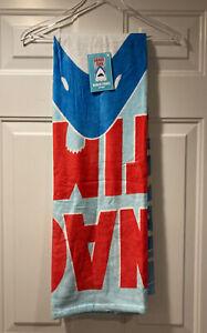 "Unbranded Snack Time Shark Beach Towel 30x60"""