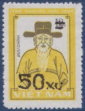 VIETNAM N°512C** Nguyen Trai surchargé,  1984  Vietnam 1386 MNH