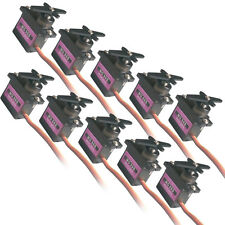 10pcs  Metal Gear RC Micro Servo 9g for Align Trex  T-rex 450 RC helicopter U