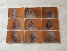 Topps Lord of the Rings Masterpieces Series 2 Bronze Parallel Trading Card Set
