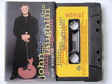 JOHN Mc LAUGHLIN TRIO . QUE  ALEGRIA . TAPE . CASSETTE AUDIO . K7
