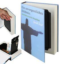 HMF Buchsafe mit echten Papierseiten Geldkassette Buchkassette Attrappe