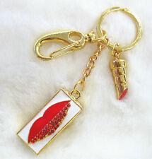 Clé USB bijoux clé mémoire Lèvres Rouge à bouche LIPS LIPSTICK strass 4 GB