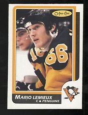 1986-87 #122 MARIO LEMIEUX O-PEE-CHEE PITTSBURGH PENGUINS HOCKEY CARD NM/MT