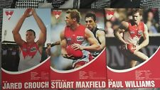Sydney Swans Players A4 Size Poster Cards Selling As A Set