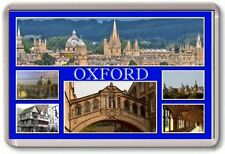 FRIDGE MAGNET - OXFORD - Large - England TOURIST