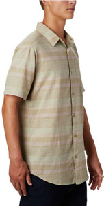 Columbia Men's Under Exposure Yarn Dye Short Sleeve Shirt XLT