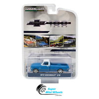 Greenlight 1972 Chevrolet C10 Pickup (Blue) Chevrolet Trucks 100 Years 1:64