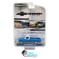 Greenlight 1972 Chevrolet C10 Pickup (Blue) Chevrolet Trucks 100 Years 1:64