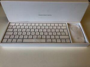 Genuine Wireless Apple Keyboard & Magic Mouse Boxed - NEW BOXED-EU KEYBOARD