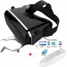 Universal 3D Virtual Reality VR Box Google Video Glasses+ Gamepad Smart Phone UK