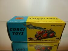 CORGI TOYS 57   MASSEY-FERGUSON 65 TRACTOR - EMPTY BOX - GOOD CONDITION