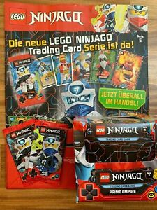 Lego® Ninjago™ Serie 5 Trading Card Game Display 50 Cards + Poster + 2 Booster