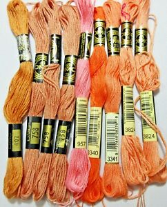 Embroidery Thread Floss Lots DMC Asstd Colors Buy One or More Lot