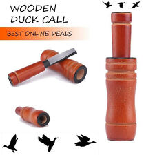 New Wood Duck Call Whistle Game Calls Great Talker Duck Caller Easy Blowing