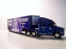 KENWORTH T Series Diecast Blue Truck/Trailer 1:66 Scale Bulldogs Custom Graphics