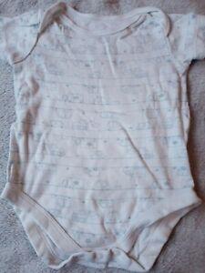 Baby Boys UK 9-12 Months Vehicle Short Sleeved Vest