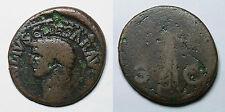 IMPERIO ROMANO.  CLAUDIO I.  AS.  ROMA.     BC-