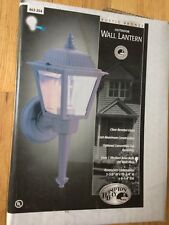 NEW Hampton Bay Outdoor Wall Lantern Rustic Bronze Cast Aluminum Light
