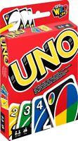 Mattel UNO Kartenspiel 2 bis 10 Spieler ca 30 bis 60 min ab 7 Jahre neu