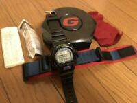 G-SHOCK DW-6600B FOX FIRE Model Working With Spare Belt Rare Japan Imoort USED