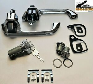 NEW 1979-1987 Chevrolet Truck Ignition & Door Lock & Handle Set with GM Keys