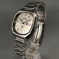 Vintage 1979 Seiko Grand Quartz 9943-5020 Twin-Quartz Mens Watch from Japan #470