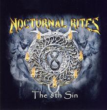 Nocturnal Rites - The 8th Sin - Aufkleber / Sticker - Neu