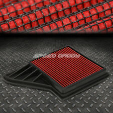 FOR 10-14 MUSTANG 3.7/5.0 RED REUSABLE&WASHABLE HIGH FLOW DROP IN AIR FILTER