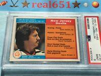 1982 O-Pee-Chee #134 STEVE TAMBELLINI Near Perfect PSA 9 Mint New Jersey Devils