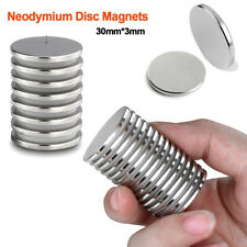 Powerful Disc Magnets Adhesive Backing, Rare-Earth Metal Neodymium to Garage DIY