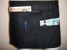 Denim Market Trader Money Belt Bag Adjustable Waist Band 4 Pocket UK