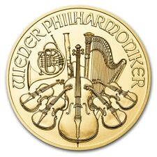 SPECIAL PRICE! 2018 Austria 1 oz Gold Philharmonic BU - SKU #159270