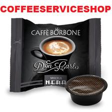 200 Capsule Cialde Caffè Borbone Don Carlo Nero compatibili Lavazza A Modo Mio
