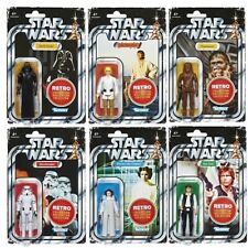 Star Wars The Retro Collection Wave 1 Set Of 6