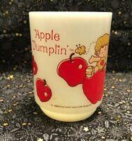 Vintage Apple Dumplin American Greetings corp 1980 Coffee/Hot Chocolate Cup