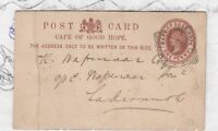Cape of Good Hope QV 1883 Cover Postal History J2301