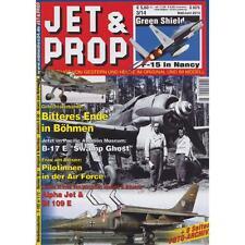 JET & PROP 3/14 Flugzeug Modellbau Junkers Alpha Jet Bf 109 Airforce Rudel 2. WK