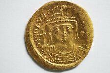 Byzanz, Maurice Tiberius 582-602,Gold Solidus 3,98 g.,ERHALTUNG VG-130