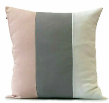 large 3 tone cushions + covers or covers only Blush Pink Grey White