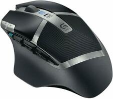 Logitech G602 Wireless Gaming Mouse With Delta Zero Sensor Technology - Black