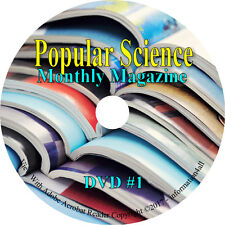 Popular Science Monthly Magazine - Science & Technology - 93 Issues on DVD