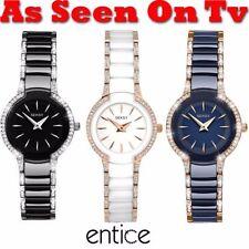 Ceramic Band Polished Wristwatches