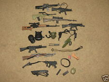 Big Lot of 24 pieces - 21st Century Toys Gi Joe guns + other accessories